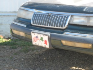 MX-US license plate
